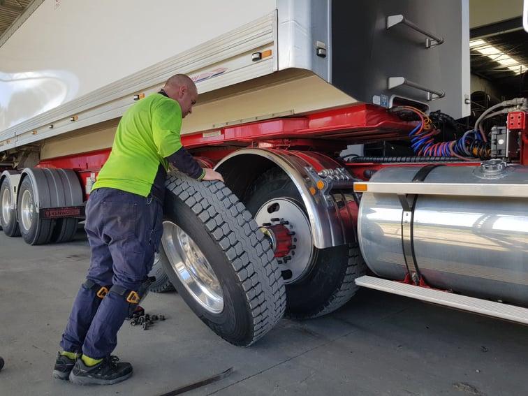 Lockdown helps trucking higher status
